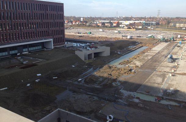 120.000 m³ grondverzet voor bouw nieuw ziekenhuis
