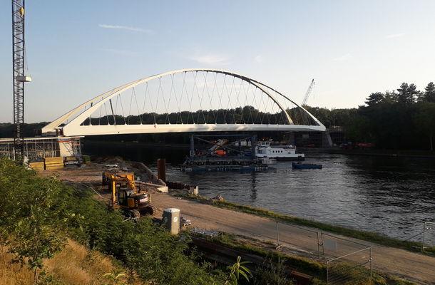 Mijlpaal cluster 1: Alle 7 nieuwe bruggen over Albertkanaal zijn open