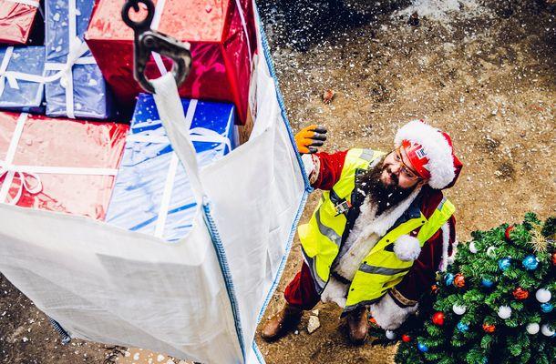 Onze Kerstman wil je iets vertellen...