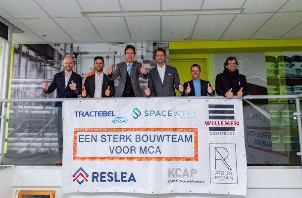 Willemen Construct bouwt mee aan Maritieme Campus Antwerpen (MCA)