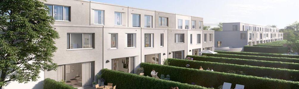 Vlakbij het centrum van Mechelen verrijst weldra het woonproject Asperre, bestaande uit 21 BEN-woningen. Asperre staat voor uniek, nieuw en duurzaam wonen in Mechelen, met het park Papenhof naast  de voordeur. De woningen worden uitgevoerd in hedendaagse
